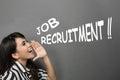 Job recruitment announcement
