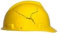 Job Safety, hard Hat, Isolated Royalty Free Stock Photo
