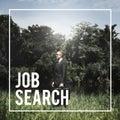 Job Search Hiring Career Recruiting Concept