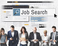 Job Search Human Resources Recruitment Career Concept Royalty Free Stock Photo