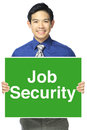 Job security Images libres de droits