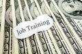 Job training Royalty Free Stock Photo