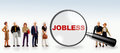 Jobless and worker concept Royalty Free Stock Photo
