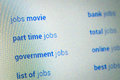 Jobs searching choices