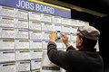 Jobs skills expos held in perth convention centre july Royalty Free Stock Photo