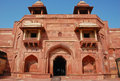 Jodh Bai's palace in Fatehpur Sikri Stock Photography