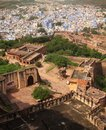 Jodhpur, the blue city Stock Images