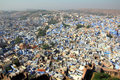 Jodhpur blue city in india Stock Images