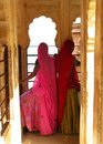 Jodhpur, India: colorful sarees of Rajasthan Stock Photography