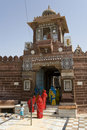 Jodhpur - Sachiya Mata Hindu Temple - India Royalty Free Stock Photography