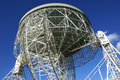 Jodrell Bank radio telescope Royalty Free Stock Photography