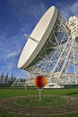 Jodrell Bank Radio Telescope Royalty Free Stock Photos
