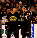 Joe corvo e tyler seguin boston bruins Immagine Stock