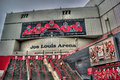 Joe louis arena in detroit michigan is home the the detroit redwings Stock Photography