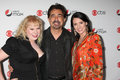Joe Mantegna,Paget Brewster,Kirsten Vangsness Royalty Free Stock Image