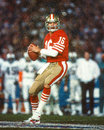 Joe montana san francisco ers Immagini Stock