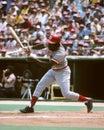 Joe morgan cincinnati reds b image from color slide Royalty Free Stock Photo