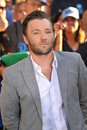 Joel edgerton at the world premiere of his movie the odd life of timothy green at the el capitan theatre hollywood august los Stock Photography
