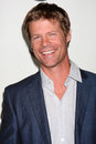 Joel gretsch los angeles jan arrives at the disney abc television group s tca winter press tour party at langham huntington hotel Royalty Free Stock Image