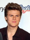 Joel peat from lawson arriving for the capital radio jingle bell ball o arena london picture by alexandra glen featureflash Stock Photos