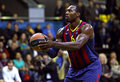 Joey dorsey de fc barcelona Photographie stock