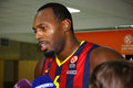 Joey dorsey de fc barcelona Photos libres de droits