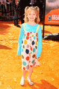Joey king at the world premiere of dr seuss horton hears a who mann village westwood ca Royalty Free Stock Images
