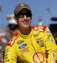 Joey Logano NASCAR Sprint Cup Driver Daytona 500 Royalty Free Stock Photo