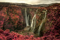 Jog Falls Infrared Royalty Free Stock Photo