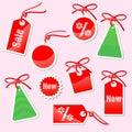 Jogo das etiquetas à venda do ano de Prenew Imagem de Stock Royalty Free