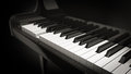Jogo do piano Foto de Stock Royalty Free