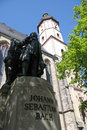 Johann Sebastian Bach statue Royalty Free Stock Photos