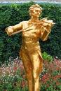 Johann Strauss statue Royalty Free Stock Photo