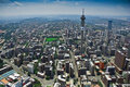 Johannesburg CBD - Aerial View Stock Photography