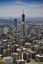 Johannesburg CBD - Aerial View - 1A Royalty Free Stock Images