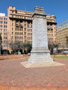 Johannesburg cenotaph the was unveiled by the earl of athlone on th october and is a replica of the in london Royalty Free Stock Photography