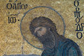 John the baptist hagia sophia istanbul this image of is part of mosaic from church turkey different methods of mosaic Royalty Free Stock Photos