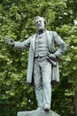 John Batchelor statue Royalty Free Stock Photography