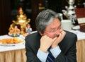 John C. Tsang - Financial Secretary Hong Kong Spec Royalty Free Stock Photography