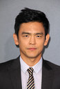 John cho at the total recall los angeles premiere chinese theater hollywood ca Stock Images