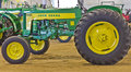 John Deere Model 430 Utility Tractor Stock Photos