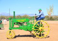 John deere model b was exhibition apache junction arizona usa arizona early gas engine tractor association march Stock Images