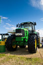 John Deere tractor Stock Photography
