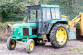 John deere a tractor model Royalty Free Stock Photo