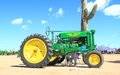 John deere tractor was exhibition apache junction arizona usa arizona early day gas engine tractor association march Stock Photo