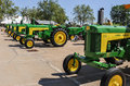 John deere tractors various shot this in in waterloo iowa Royalty Free Stock Image