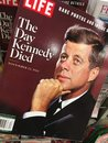 John F. Kennedy on a cover of magazine Royalty Free Stock Photo