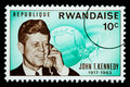 John F. Kennedy Postage Stamp Stock Photography