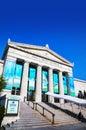 John G. Shedd Aquarium building in Chicago Royalty Free Stock Photo