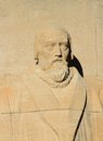 John knox reformation wall geneva switzerland close up of statue on in parc des bastions Stock Images